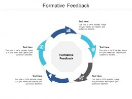 Formative Feedback Ppt Powerpoint Presentation Layouts Master Slide Cpb