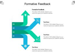 Formative Feedback Ppt Powerpoint Presentation Professional Deck Cpb
