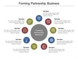 Forming Partnership Business Ppt Powerpoint Presentation Slides Grid Cpb