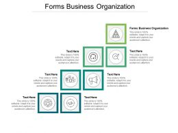 Forms Business Organization Ppt Powerpoint Presentation Pictures Outfit Cpb