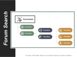Forum Search Ppt Powerpoint Presentation File Picture Cpb