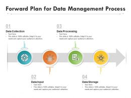 Forward Plan For Data Management Process
