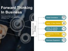 Forward Thinking In Business Ppt Background