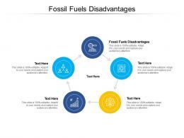 Fossil Fuels Disadvantages Ppt Powerpoint Presentation Slides Design Inspiration Cpb