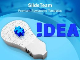 Found The Idea For Business Upliftment PowerPoint Templates PPT Themes And Graphics 0513