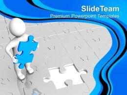 Found The Right Solution For Business Growth PowerPoint Templates PPT Themes And Graphics 0513