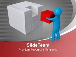 Found The Solution Business PowerPoint Templates PPT Themes And Graphics 0213