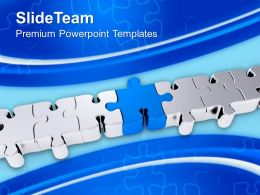 Found The Solution Jigsaw Puzzles Business Powerpoint Templates Ppt Themes And Graphics 0113