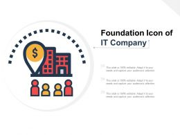 Foundation Icon Of It Company