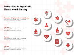 Foundations Of Psychiatric Mental Health Nursing Ppt Powerpoint Presentation Professional Graphics Tutorials