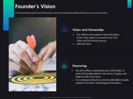 Founders Vision Consulting Ppt Slides