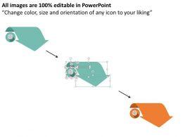 four_arrow_design_option_representation_text_boxes_flat_powerpoint_design_Slide02