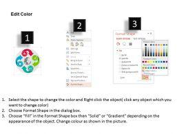 four_arrow_global_circular_chart_flat_powerpoint_design_Slide04