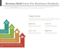 four_arrows_and_icons_for_business_analysis_powerpoint_slides_Slide01