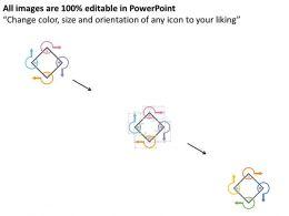 four_arrows_cyclic_order_process_flow_representation_flat_powerpoint_design_Slide02