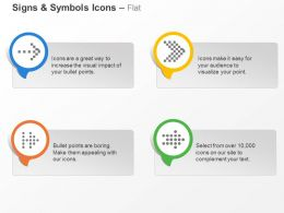 Four Arrows Direction Representation Ppt Icons Graphics