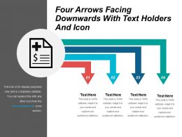four_arrows_facing_downwards_with_text_holders_and_icon_Slide01