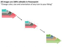 four_arrows_for_sustained_competitive_advantage_flat_powerpoint_design_Slide02