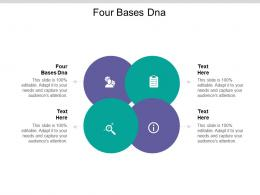 Four Bases Dna Ppt Powerpoint Presentation Layouts Microsoft Cpb
