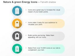 four_battery_cells_power_indication_ppt_icons_graphics_Slide01