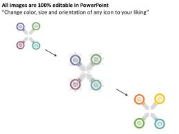 four_circles_with_arrows_and_business_icons_flat_powerpoint_design_Slide06