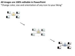 57472078 Style Technology 1 Networking 4 Piece Powerpoint Presentation Diagram Infographic Slide