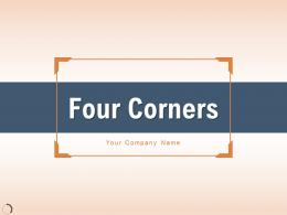 Four Corners Successful Strategy Management Organization Decision Financial Process