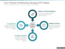 four_factors_of_marketing_strategy_ppt_slides_Slide01
