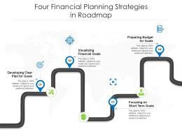 Four Financial Planning Strategies In Roadmap