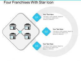 Four Franchises With Star Icon