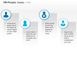 Four Icons Correct Team Selection Ppt Icons Graphics