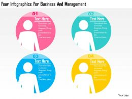 four_infographics_for_business_and_management_flat_powerpoint_design_Slide01