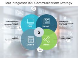 Four Integrated B2B Communications Strategy