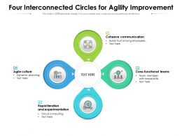 Four Interconnected Circles For Agility Improvement