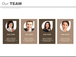Four Introduction Tags For Business Team Powerpoint Slides