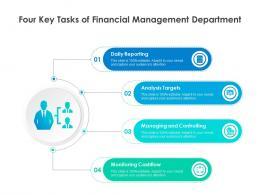 Four Key Tasks Of Financial Management Department