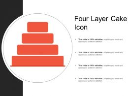 Four Layer Cake Icon