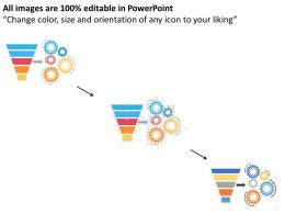 74512856 Style Layered Funnel 5 Piece Powerpoint Presentation Diagram Template Slide
