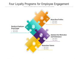 Four Loyalty Programs For Employee Engagement