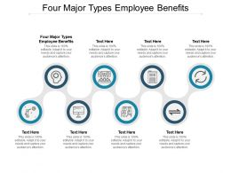 Four Major Types Employee Benefits Ppt Powerpoint Presentation Infographic Template Deck Cpb