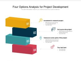 Four Options Analysis For Project Development