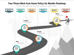 Four Phase Work From Home Policy Six Months Roadmap