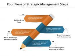 Four Piece Of Strategic Management Steps