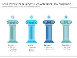Four Pillars For Business Growth And Development