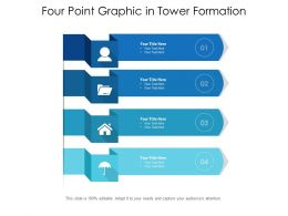 Four Point Graphic In Tower Formation