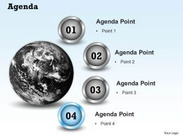 Four Points 3d Diagram For Agenda Display 0214