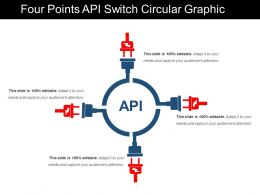Four Points Api Switch Circular Graphic