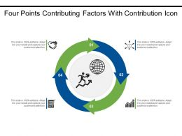 Four Points Contributing Factors With Contribution Icon