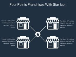 Four Points Franchises With Star Icon