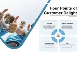 Four Points Of Customer Delight